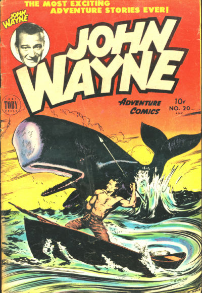 Cover for John Wayne Adventure Comics (Toby, 1949 series) #20