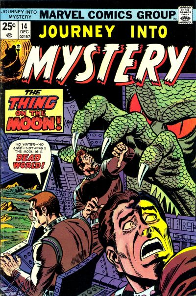 Cover for Journey into Mystery (Marvel, 1972 series) #14
