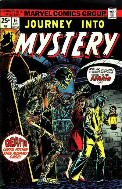 Cover for Journey into Mystery (Marvel, 1972 series) #16