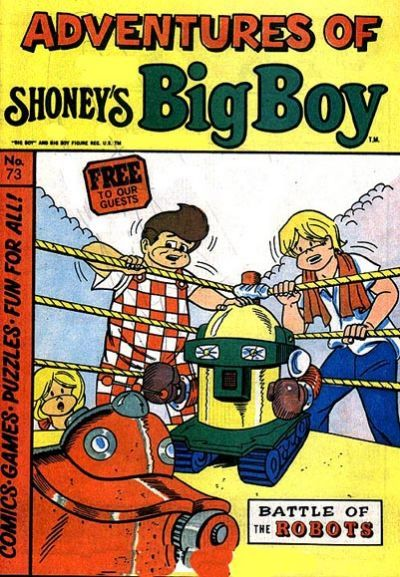 Cover for Adventures of Big Boy (1976 series) #73