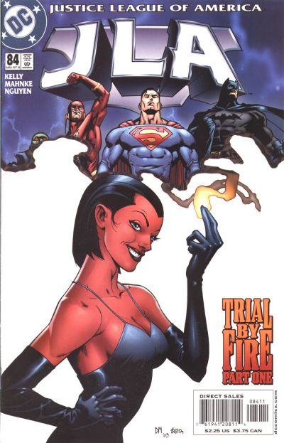 Cover for JLA (DC, 1997 series) #84