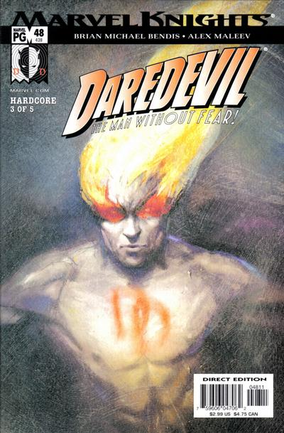 Cover for Daredevil (1998 series) #48