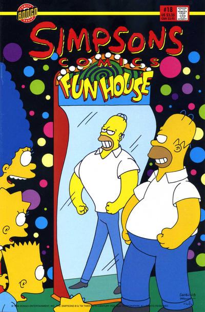 Cover for Simpsons Comics (1993 series) #18