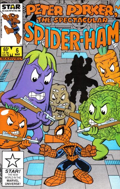 Cover for Peter Porker, the Spectacular Spider-Ham (Marvel, 1985 series) #6