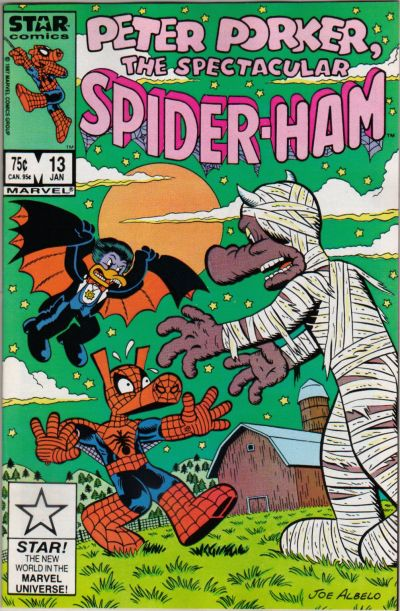 Cover for Peter Porker, the Spectacular Spider-Ham (Marvel, 1985 series) #13