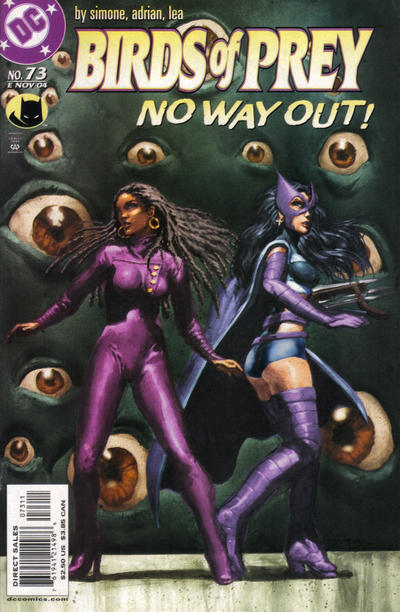 Cover for Birds of Prey (DC, 1999 series) #73