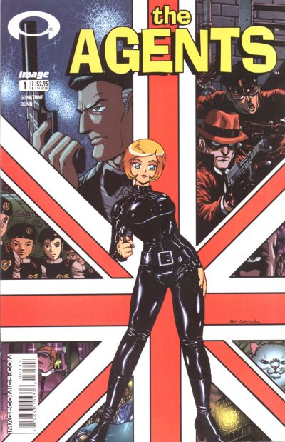 Cover for The Agents (Image, 2003 series) #1