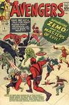Cover for The Avengers (Marvel, 1963 series) #6