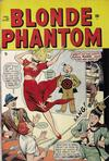 Cover for Blonde Phantom Comics (Marvel, 1946 series) #21