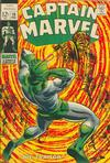 Cover for Captain Marvel (1968 series) #10