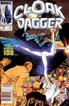Cover for Cloak and Dagger (Marvel, 1985 series) #2 [Newsstand Edition]