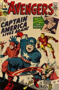 Cover Thumbnail for The Avengers (Marvel, 1963 series) #4 [Regular Edition]