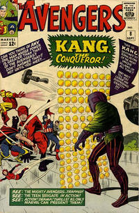 Cover Thumbnail for The Avengers (Marvel, 1963 series) #8