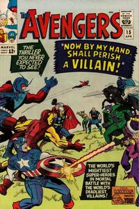 Cover Thumbnail for The Avengers (Marvel, 1963 series) #15
