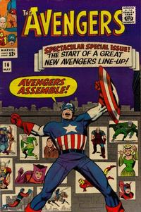 Cover for The Avengers (Marvel, 1963 series) #16