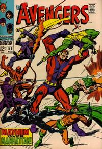 Cover Thumbnail for The Avengers (Marvel, 1963 series) #55