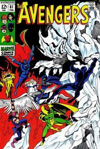 Cover Thumbnail for The Avengers (Marvel, 1963 series) #61