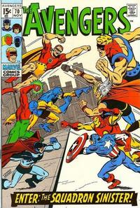 Cover Thumbnail for The Avengers (Marvel, 1963 series) #70