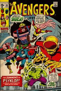 Cover Thumbnail for The Avengers (Marvel, 1963 series) #88