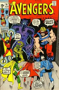 Cover Thumbnail for The Avengers (Marvel, 1963 series) #91 [Regular Edition]