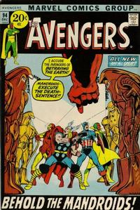 Cover Thumbnail for The Avengers (Marvel, 1963 series) #94 [Regular Edition]
