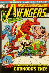 Cover for The Avengers (1963 series) #97