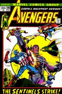 Cover Thumbnail for The Avengers (Marvel, 1963 series) #103