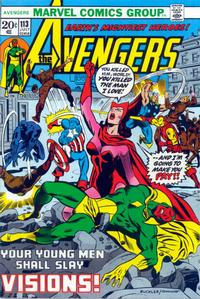 Cover Thumbnail for The Avengers (Marvel, 1963 series) #113