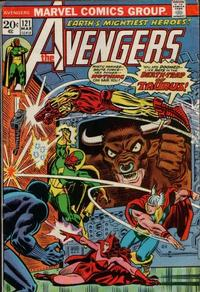 Cover for The Avengers (Marvel, 1963 series) #121