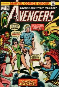 Cover Thumbnail for The Avengers (Marvel, 1963 series) #123