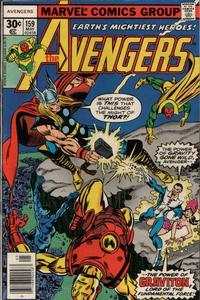 Cover Thumbnail for The Avengers (Marvel, 1963 series) #159 [Square Price Box]