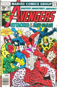 Cover Thumbnail for The Avengers (Marvel, 1963 series) #161 [30 Cover]