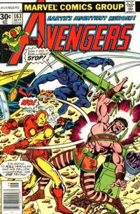 Cover Thumbnail for The Avengers (Marvel, 1963 series) #163 [30¢ Cover Price]