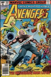 Cover Thumbnail for The Avengers (Marvel, 1963 series) #183