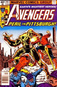 Cover Thumbnail for The Avengers (Marvel, 1963 series) #192 [Newsstand Edition]