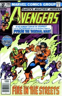 Cover for The Avengers (Marvel, 1963 series) #206 [Direct Edition]