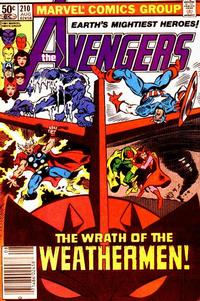 Cover Thumbnail for The Avengers (Marvel, 1963 series) #210