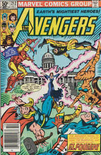 Cover Thumbnail for The Avengers (Marvel, 1963 series) #212
