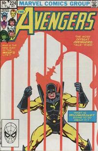 Cover Thumbnail for The Avengers (Marvel, 1963 series) #224 [Direct Edition]