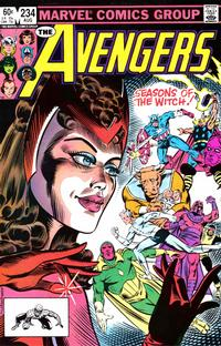 Cover Thumbnail for The Avengers (Marvel, 1963 series) #234 [Direct Edition]