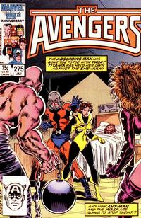 Cover Thumbnail for The Avengers (Marvel, 1963 series) #275 [Direct Edition]