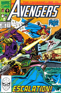 Cover Thumbnail for The Avengers (Marvel, 1963 series) #322