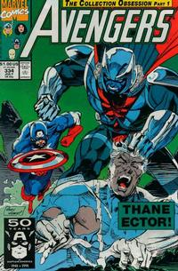 Cover Thumbnail for The Avengers (Marvel, 1963 series) #334 [Direct Edition]