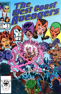 Cover Thumbnail for West Coast Avengers (Marvel, 1985 series) #2 [Direct Edition]