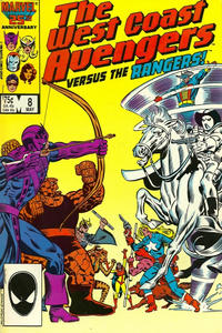 Cover Thumbnail for West Coast Avengers (Marvel, 1985 series) #8 [Direct Edition]