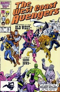 Cover Thumbnail for West Coast Avengers (Marvel, 1985 series) #18 [Direct Edition]