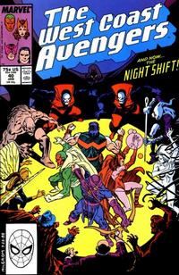 Cover Thumbnail for West Coast Avengers (Marvel, 1985 series) #40 [Direct Edition]