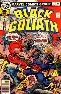 Cover for Black Goliath (Marvel, 1976 series) #3 [30¢ Price Variant]