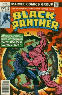 Cover Thumbnail for Black Panther (Marvel, 1977 series) #10