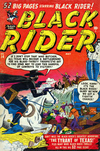 Cover Thumbnail for Black Rider (Marvel, 1950 series) #14